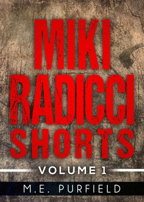 Collected for the first time are the first 9 short stories in the Miki Radicci series. In these stories you will experience adventures not found in the novels. What does Miki go through after she kills someone and how does it affect her psychic ability, her crossroad of trust between Gray Delisle and Frank Welker, the night she met Lorelei Cox, and others. Also find stories about Gray Delisle, best friend and psychic partner, KC Kasem, psychic healer from Surly Girly, and Lily Mathews, manipulative kidnapper from Bawling Sugar Soul, and others.